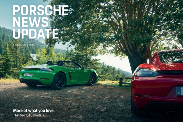 Porsche news update - Edition 1 2020