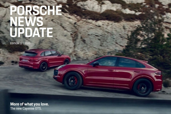 Porsche news update - Edition 2 2020